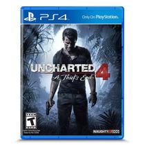 Jogo Uncharted 4 Athiefs End Ps4 Física Lacrado Frete Grátis