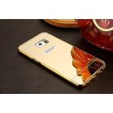 Bumper Alumínio Espelhada Samsung Gal S6 Edge Capa Celular
