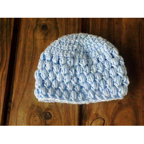 Gorro Tejido A Mano En Crochet Recien Nacido