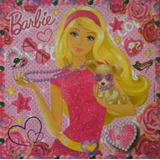 Puzzle Barbie Con Base De Gomas Eva 101 Piezas, Oferta!