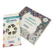 Eco Kit Libro Y Lápices Para Colorear - Fundación Garrahan E