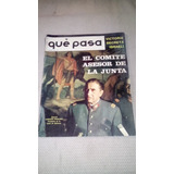 Augusto Pinochet Antigua Revista Que Pasa Nov 1973 Chile