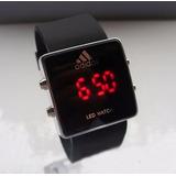 Reloj Led Watch Silicona adidas Hl210 Nuevo Sin Pilas