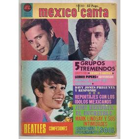 Revista México Canta Enrique Guzmán César Costa 1963