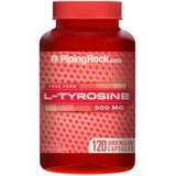 L-tirosina 500mg - 120caps. Usa Maxima Calidad