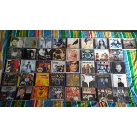 41 Cds Rock Pop Maná Xuxa Bon Jovi Hanson Thomas Fersen Five