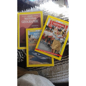 3 Revista Libro En Ingles National Geographic Antiguas