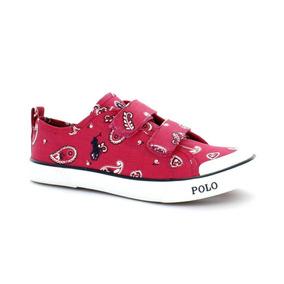 Tenis Para Niño Polo Ralph Lauren 992622s6-042540 Color Rosa
