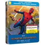 Homem-aranha - De Volta Ao Lar - Steelbook - Blu-ray - 2 Dis