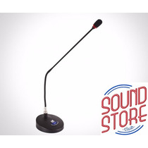 Microfone Tsi Gooseneck Mmf-303 De Mesa Haste 63cm
