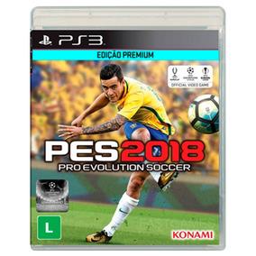 Jogo Pro Evolution Soccer 2018 (pes 2018) Para Ps3 - Konami