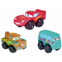 Cars Rayo Mcqueen-fillmore-mater Plastisol Ideal Chicos!!