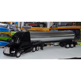 1:32 Kenworth T700 C Pipa Cromada New Ray Trailer