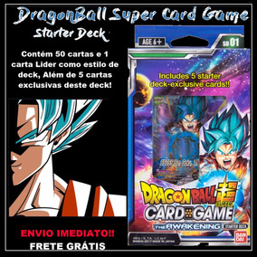 Dragon Ball Super Card Game The Awakening Starter Deck Dbz