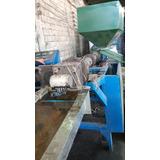 Extrusora Pelletizadora 85mm Para Plastico Corte/frio