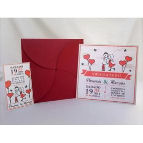Invitaciones Tarjetas Casamiento 15 Años Tipo Flor