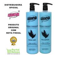 Kit Shampoo E Mascara Hidro Therapy 1l - Luxuosa Cosméticos