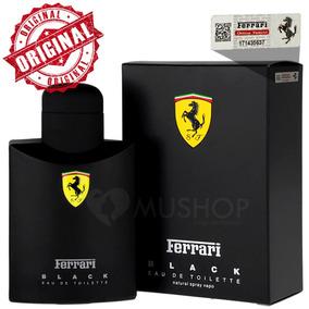 Perfume Ferrari Black 200ml Original Lacrado Pronta Entrega!