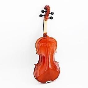 Violín 1/2 Violín Tilo Cuerdas De Acero Eje Arco Musical...