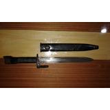 Sable Bayoneta De Fusil Fal Epoca Guerra De Malvinas 32 Cm.