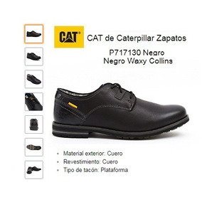 Zapatos Caterpillar - Cat Collins (de Vestir, De Trabajo)