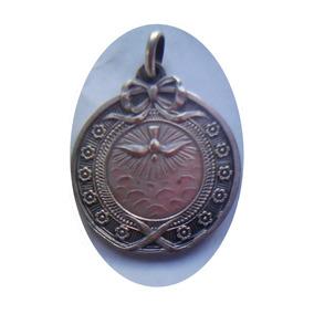 Antigua Medalla De Plata Coleccionable 1930.bodas De Plata