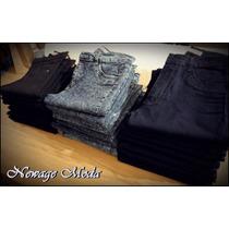Jeans Elastizados Chupines & Rectos - Talles 40 Al 50