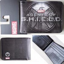 Carteira Marvel Agents Of Shield 100% Original