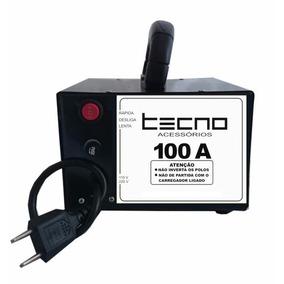 Carregador De Bateria, 100 Amp, Chupa Cabra, Lento E Rápido