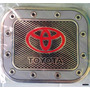 Calcomania Cuadrada Decorativa Tapa Gasolina Carros Toyota