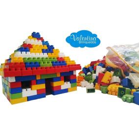 Kit Multiblocos Com 600 Peças - Blocos - Montar - Criança