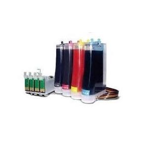 Sistema De Tintas Epson T22,tx120,tx130, Full Con Tinta