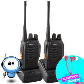Radios Motorola Walkie Talkie 5 W Radio Fm Linterna + Regalo