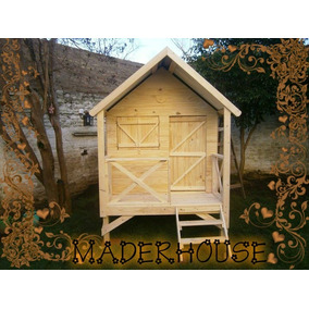 Casita De Madera Para Niños M3 Maderhouse