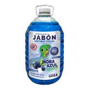 Jabón Líquido Antibacterial Para Manos Mora Azul 5 Litros