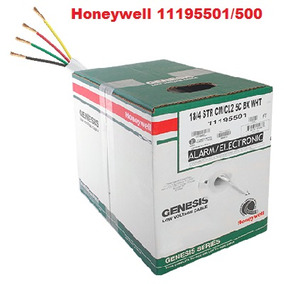 Cable Cm-cl2, 4 Hilos, 152m, 18 Awg, Honeywell 11195501/500