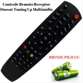 Controle Remoto D#uosat Tuning Up Multimid P/ Tv Led Philips