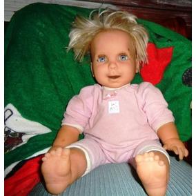 Boneca Bebê Silicone Miracle Baby - 2000 Mattel - Funciona.