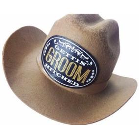 Sombrero Vaquero Groom Novio Para Despedida De Soltero Mini