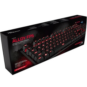 Teclado Hyperx Gamer Alloy Fps Red Hx-kb1rd1-na/a4