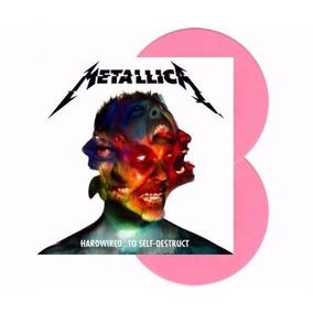 Metallica Hardwired To Self Destruct 2 Lp Vinil Pink Selado