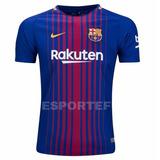 Camisa Nike Barcelona 2017 2018 Original Esportefut