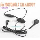 Auricular Ptt Para Motorola Talkabout T-5000 T-7400 Fr50