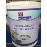 Pintura Impermeabilizante P/frentes Murallon Blanco X 20lts