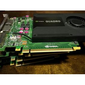 Tarjeta De Video Nvidia Quadro K2000, Dvi + 2 Display Port