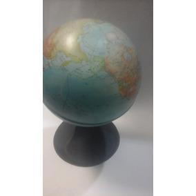 Globo Terraqueo 16 Cm Base Plastica Oferta Microcentro