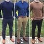 Pantalon Chino Skinny Tubito Hombre Slim Fit Moda 2017