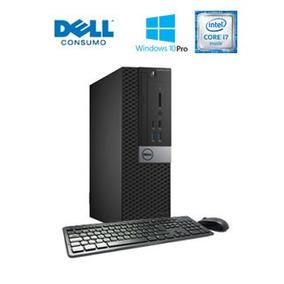 Computadora Dell Optiplex 7040 Sff, Intel Core I7-6700 3.40