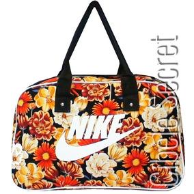 Bolsa Nike Sacola Feminino Preto E Colorida Envio Rápido