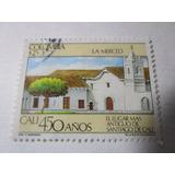 Iglesia La Merced Cali 450 Años Colombia Estampilla L7